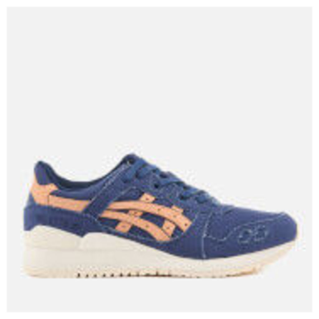 Asics Gel-Lyte III Trainers - Indigo Blue/Tan - UK 10