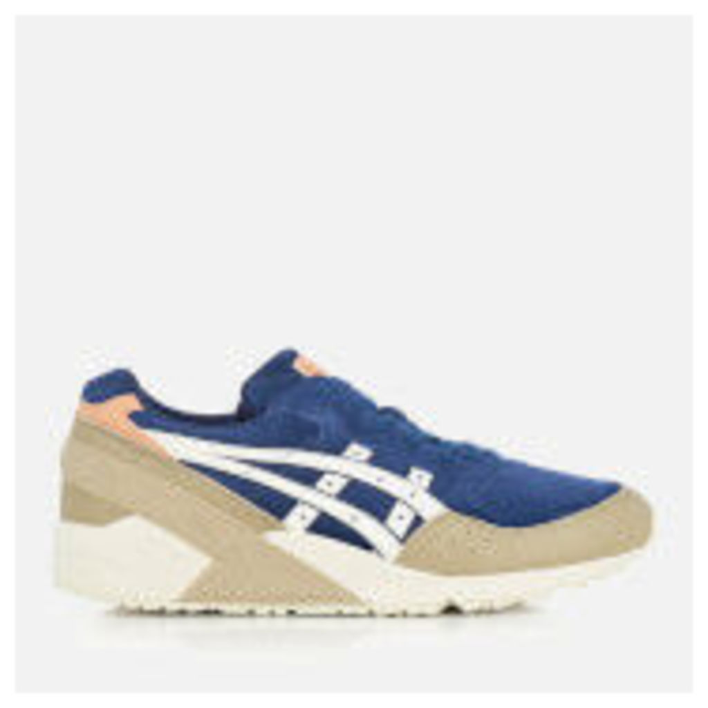Asics Men's Gel-Sight Suede Trainers - Indigo Blue/Cream - UK 9