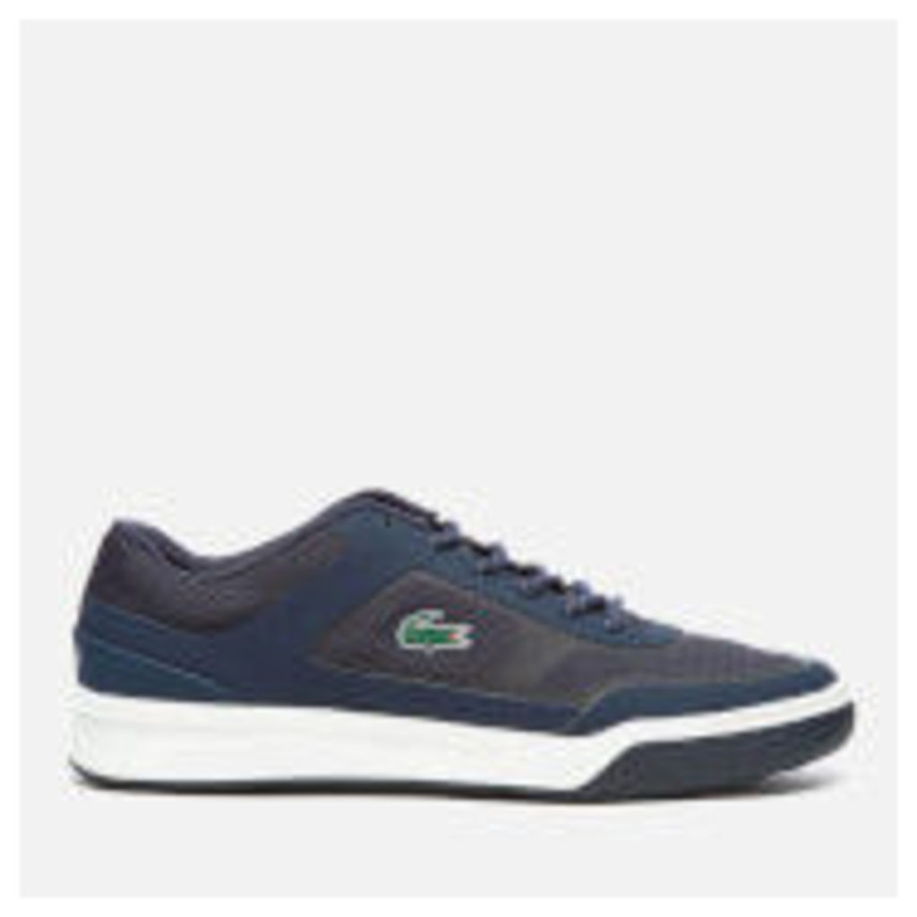 Lacoste Men's Explorateur 117 2 Tennis Cupsole Trainers - Navy - UK 7