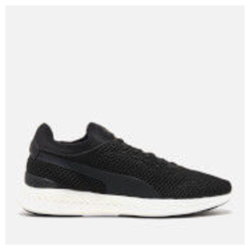 Puma Men's Ignite Sock Knit Running Trainers - Puma Black/Puma White - UK 8/EU 42
