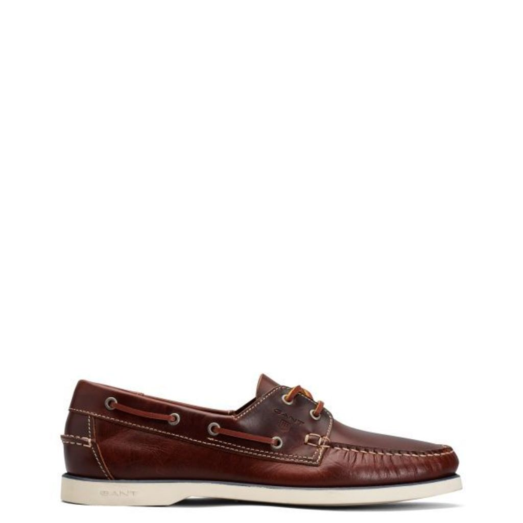 Prince Boat Shoe - Mud Brown