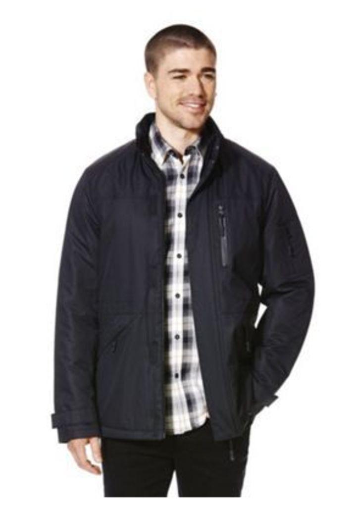 F&F Padded Shower Resistant Ripstop Jacket, Men's, Size: Xxxl