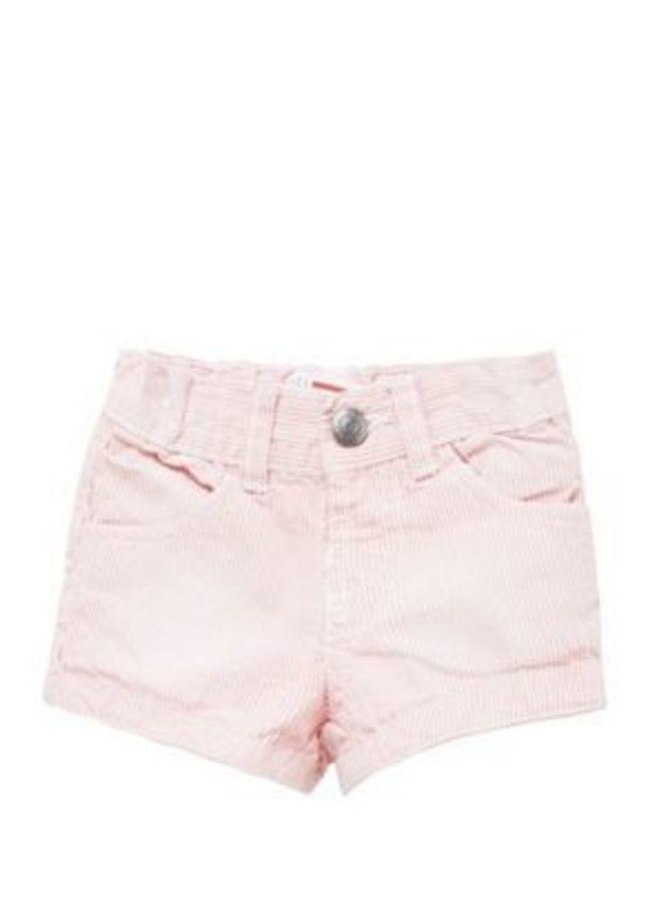 Minoti Pinstripe Shorts, Toddler Girl's, Size: 12-18 Months