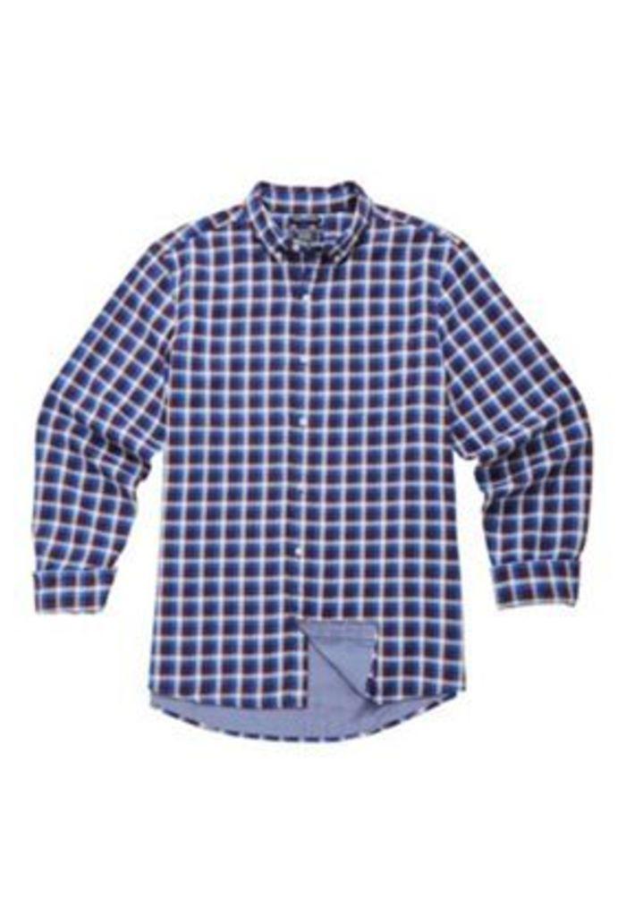 F&F Double Face Checked Shirt, Men's, Size: Xxxl