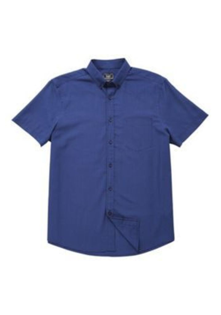 F&F Soft Touch Mini Check Shirt, Men's, Size: Large