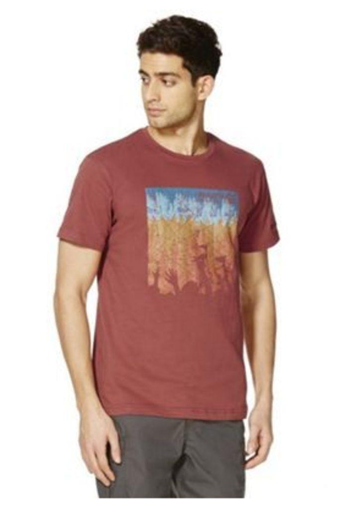 Regatta Cline Festival Logo T-Shirt, Men's, Size: Medium
