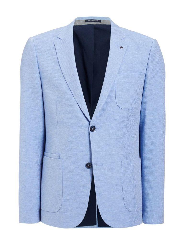 Men's Peter Werth Eton Patch Pocket Blazer, Light Blue