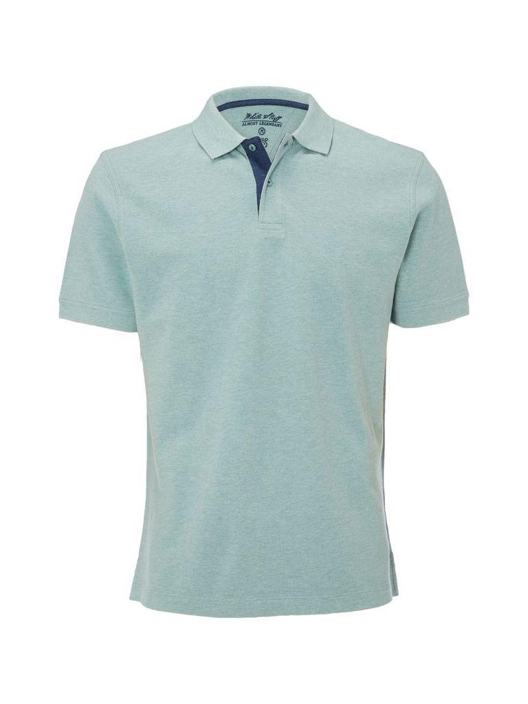 Men's White Stuff Backstroke Polo, Green