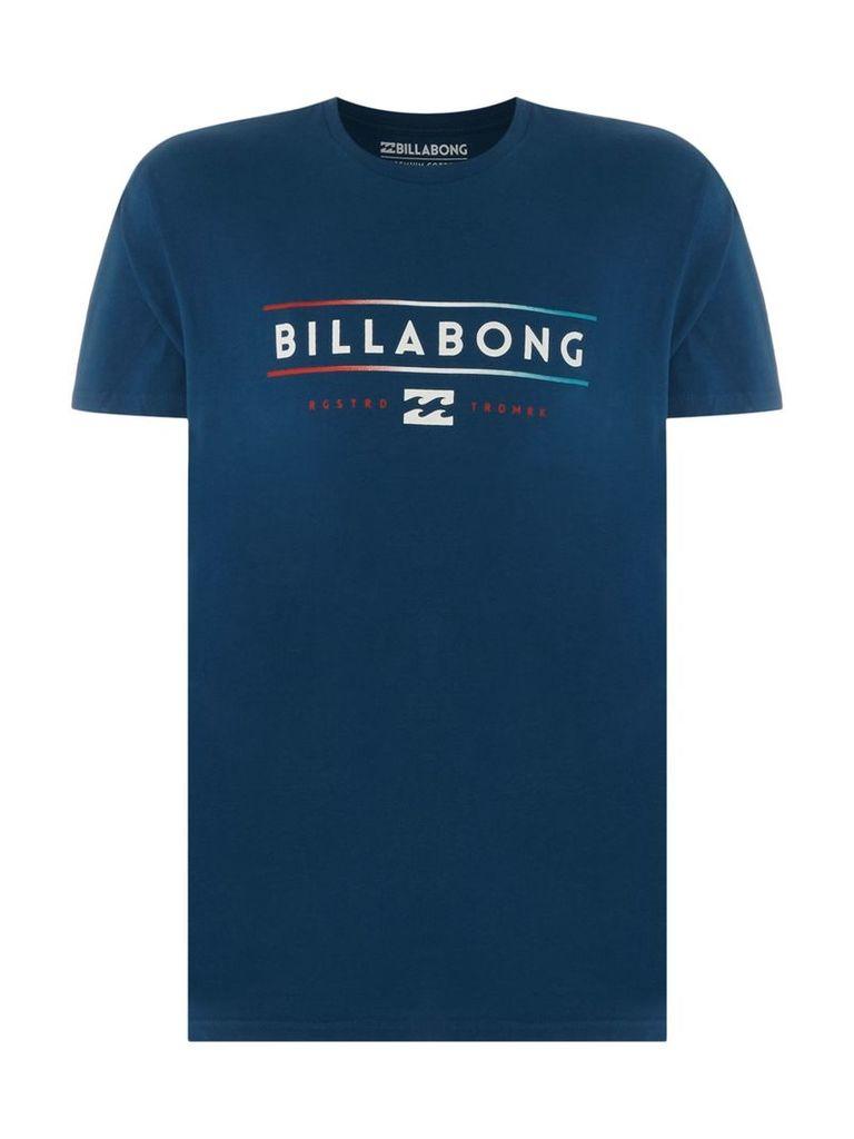 Men's Billabong Short Sleeve Tee Shirt, Navy