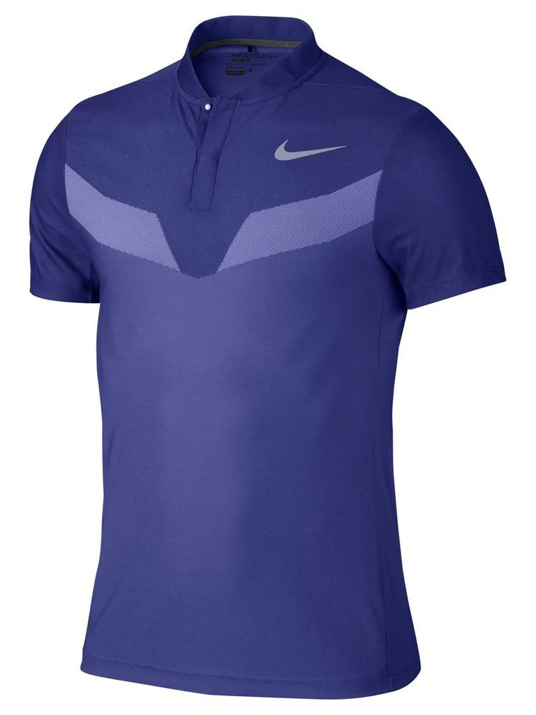 Men's Nike Zonal Cooling Fly Blade Polo, Blue