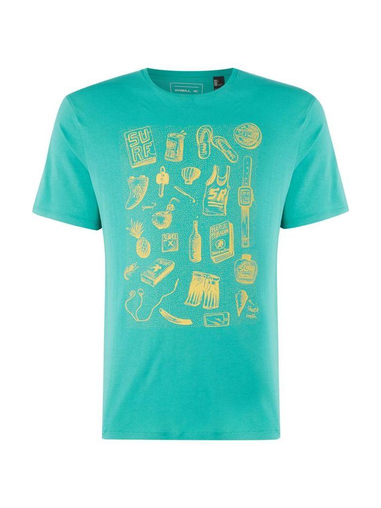 Men's O'Neill California T-Shirt, Green