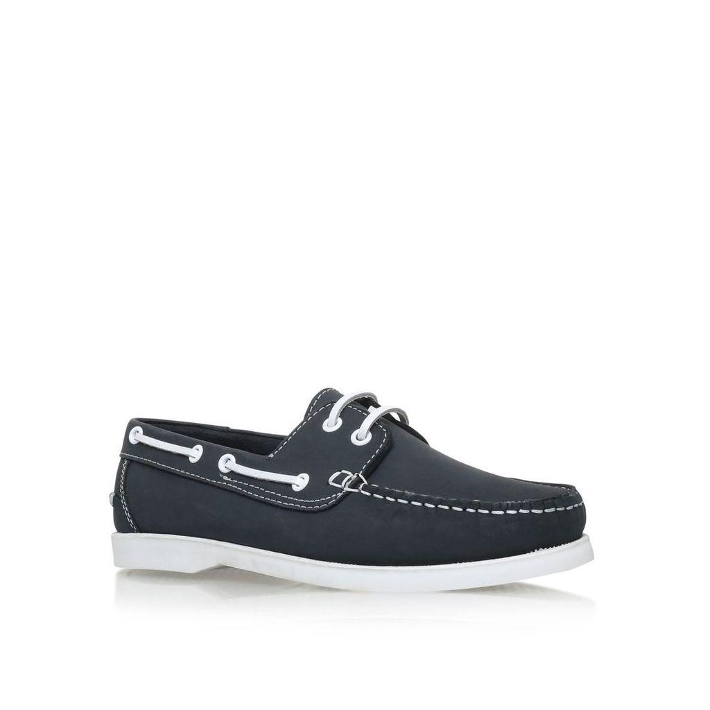 KG Felton Lace Up Deck Shoes, Navy