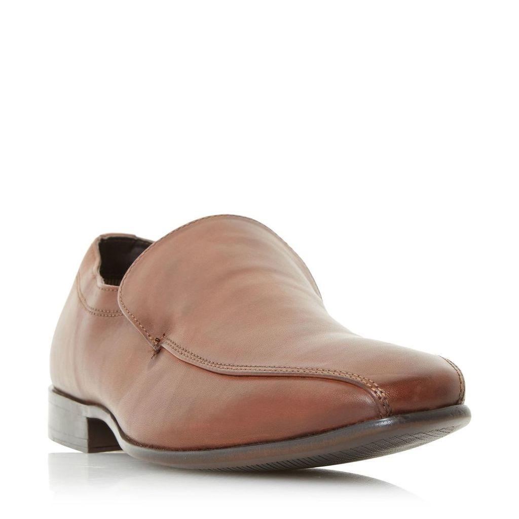 Howick Patients Tramline Slip Loafers, Tan