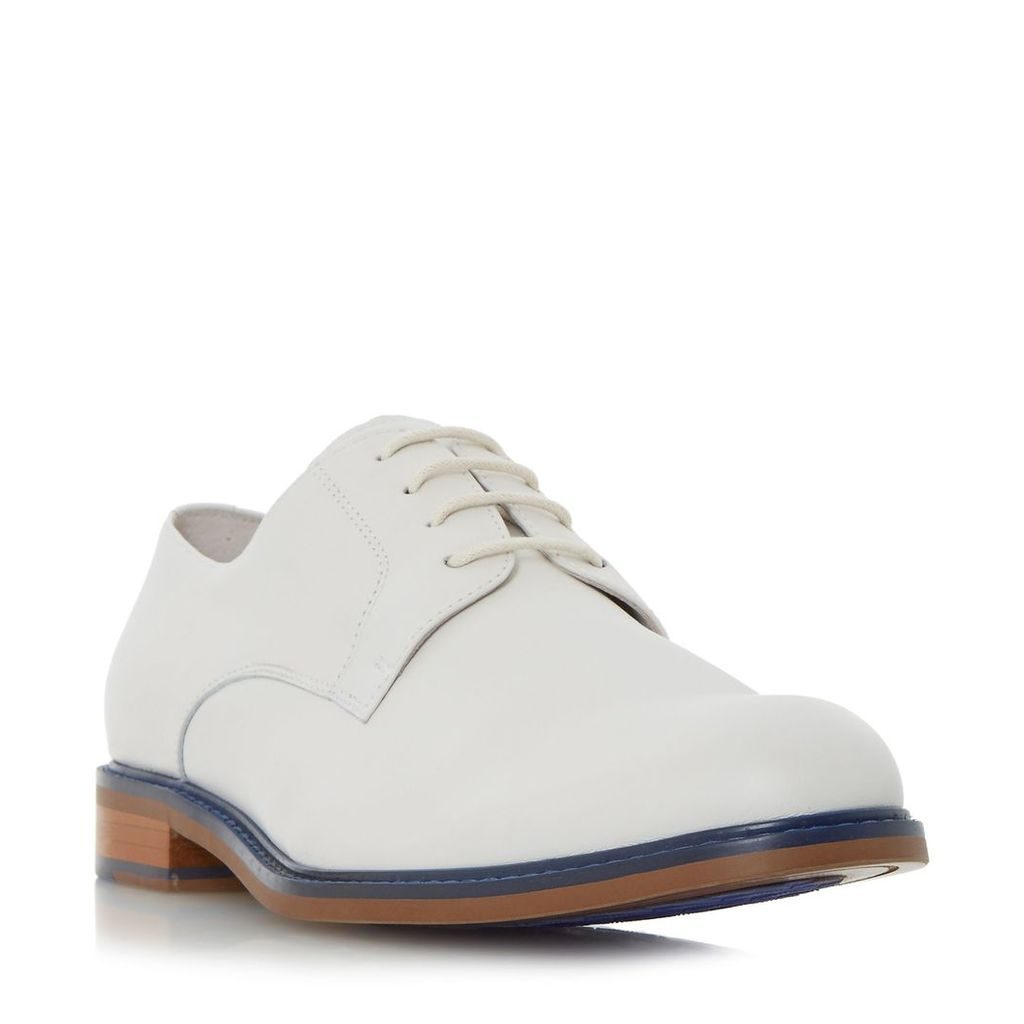 Dune Pacific Colour Pop Rand Gibson Shoes, White