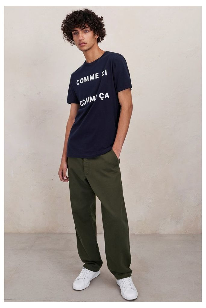 Cotton Row Trousers - forest