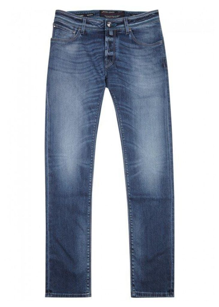 Jacob Cohën J622 Blue Slim-leg Jeans - Size W32
