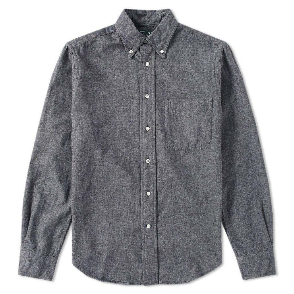 Gitman Vintage Flannel Chambray Shirt