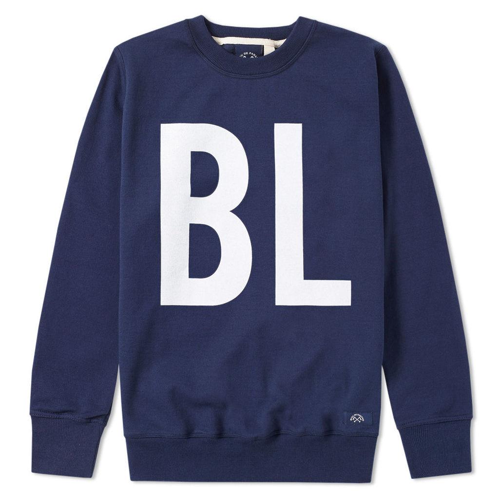 Bleu de Paname BL EU Print Sweat