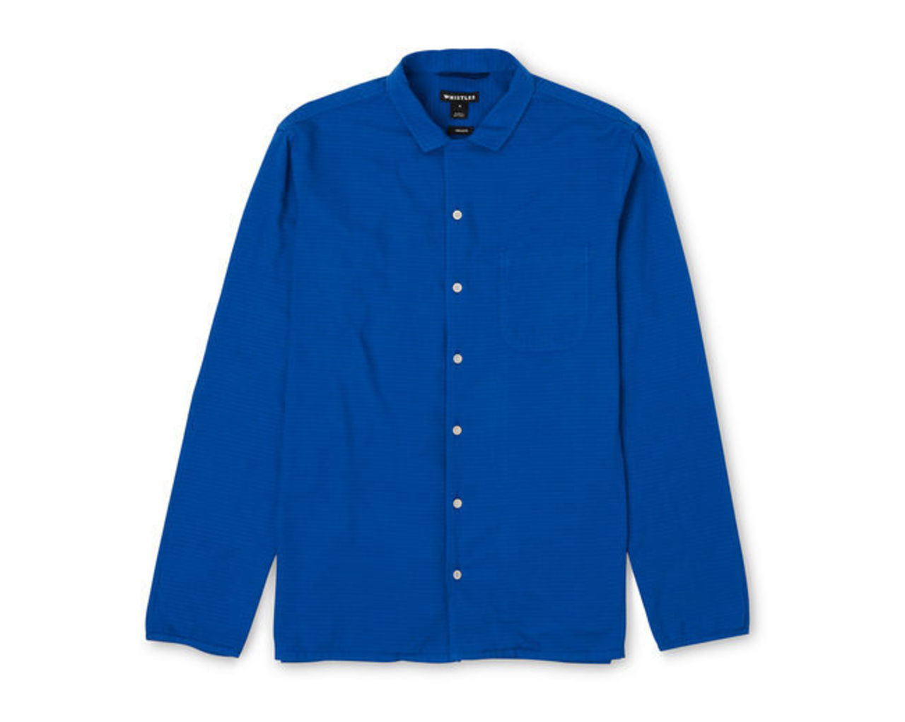 Pressed Collar Relaxed Shirt