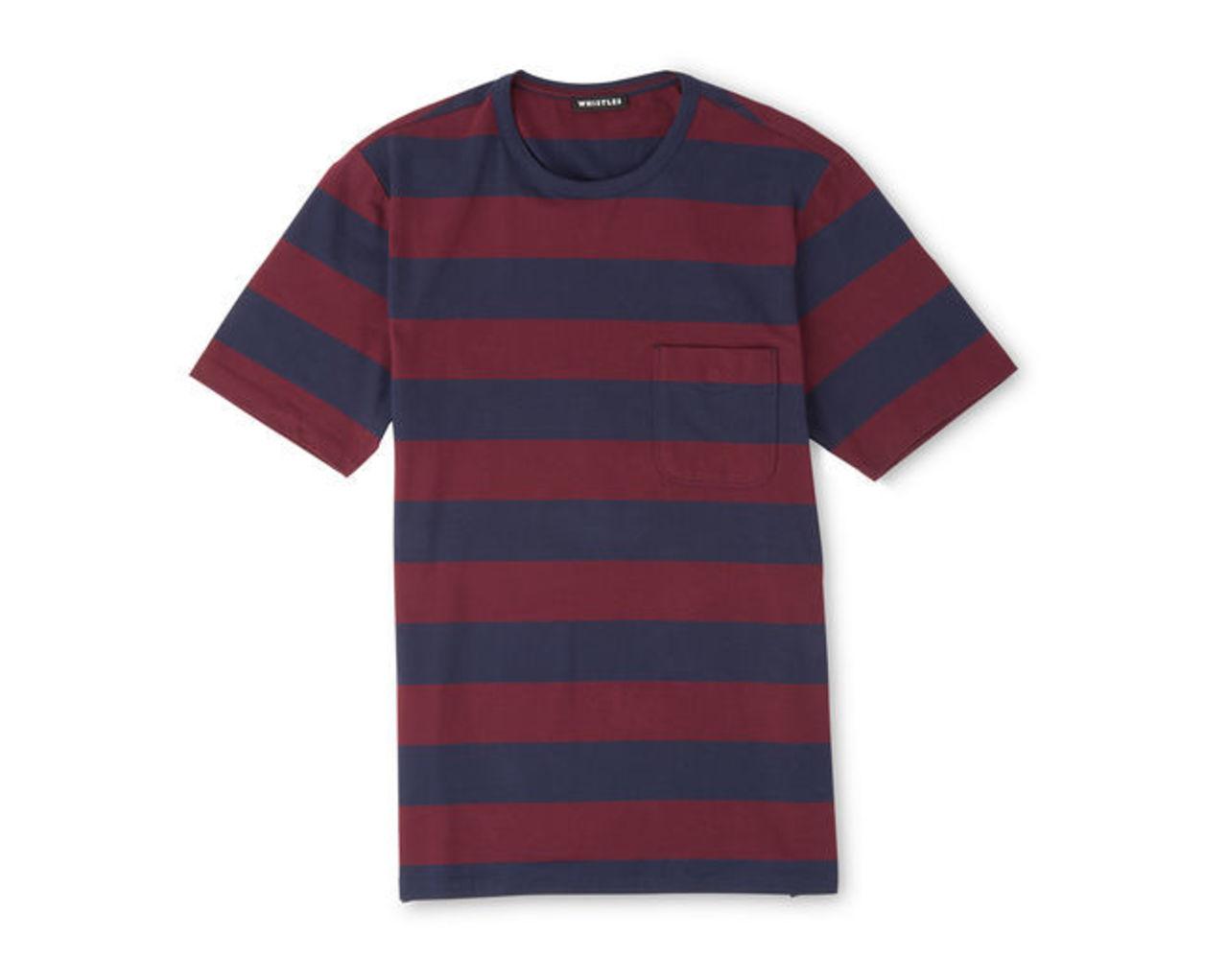Block Striped T-Shirt