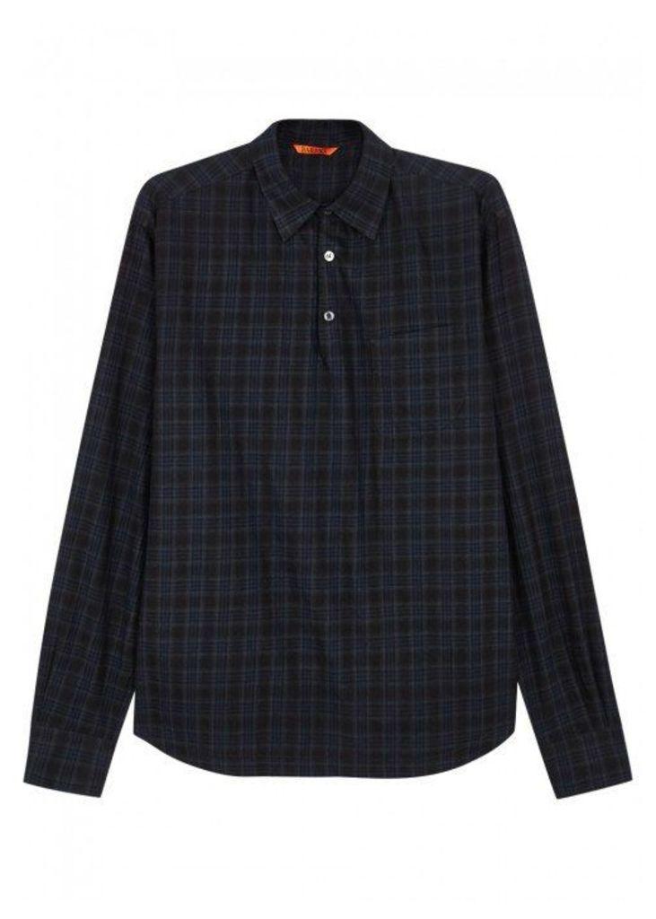 Barena Pavan Steno Plaid Cotton Shirt - Size 38