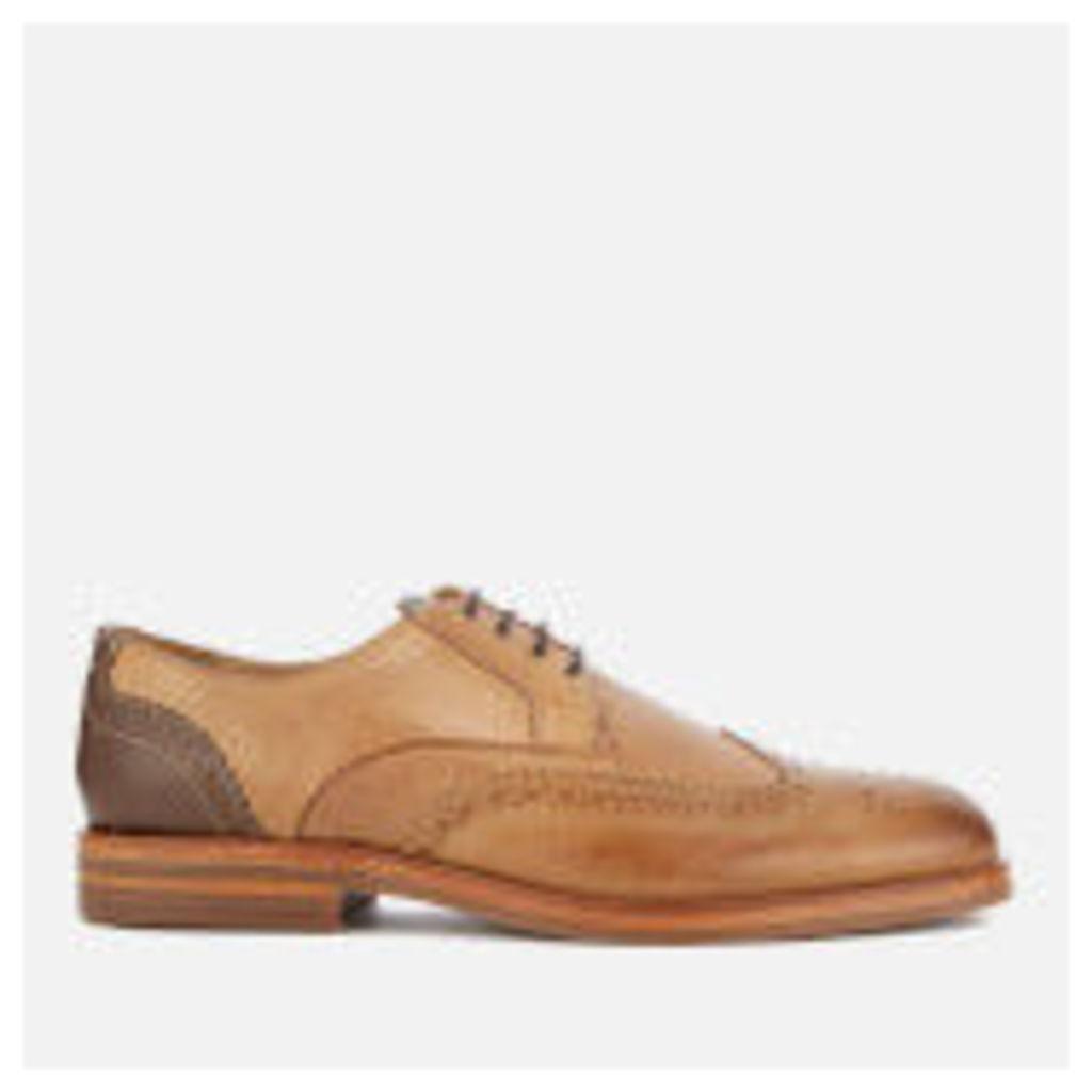 Hudson London Men's Osney Leather Brogues - Tan - UK 11 - Tan