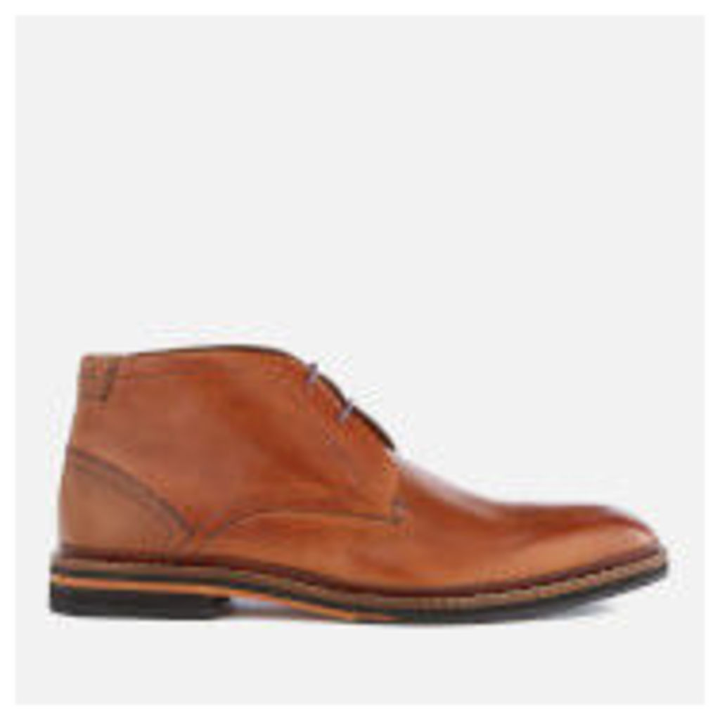 Ted Baker Men's Azzlan Leather Desert Boots - Tan - UK 11 - Tan