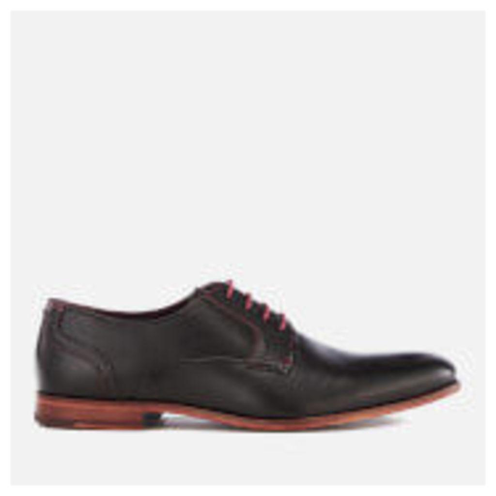 Ted Baker Men's Iront Leather Derby Shoes - Black - UK 11 - Black