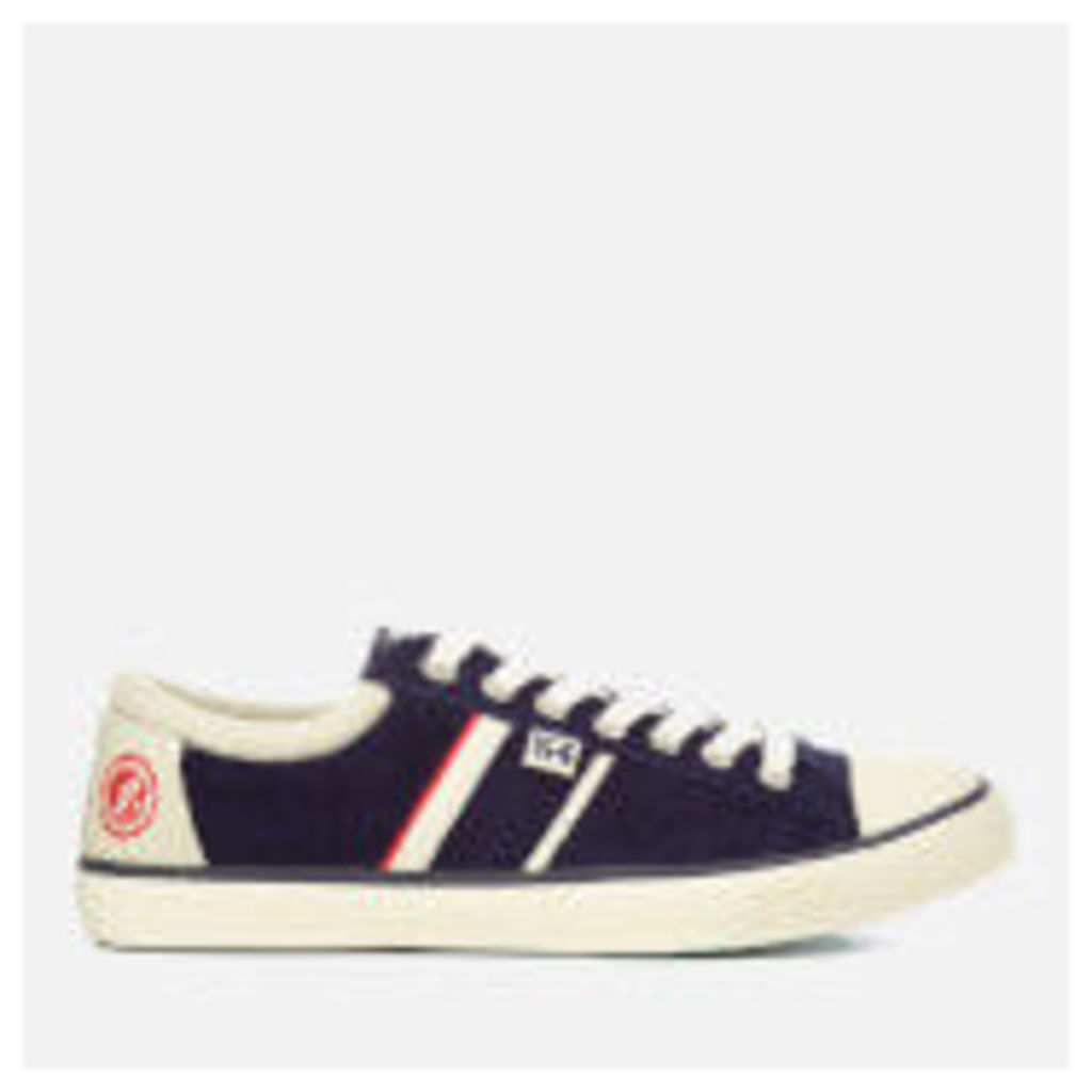 Superdry Men's Track and Field Hammer Low Top Trainers - Navy