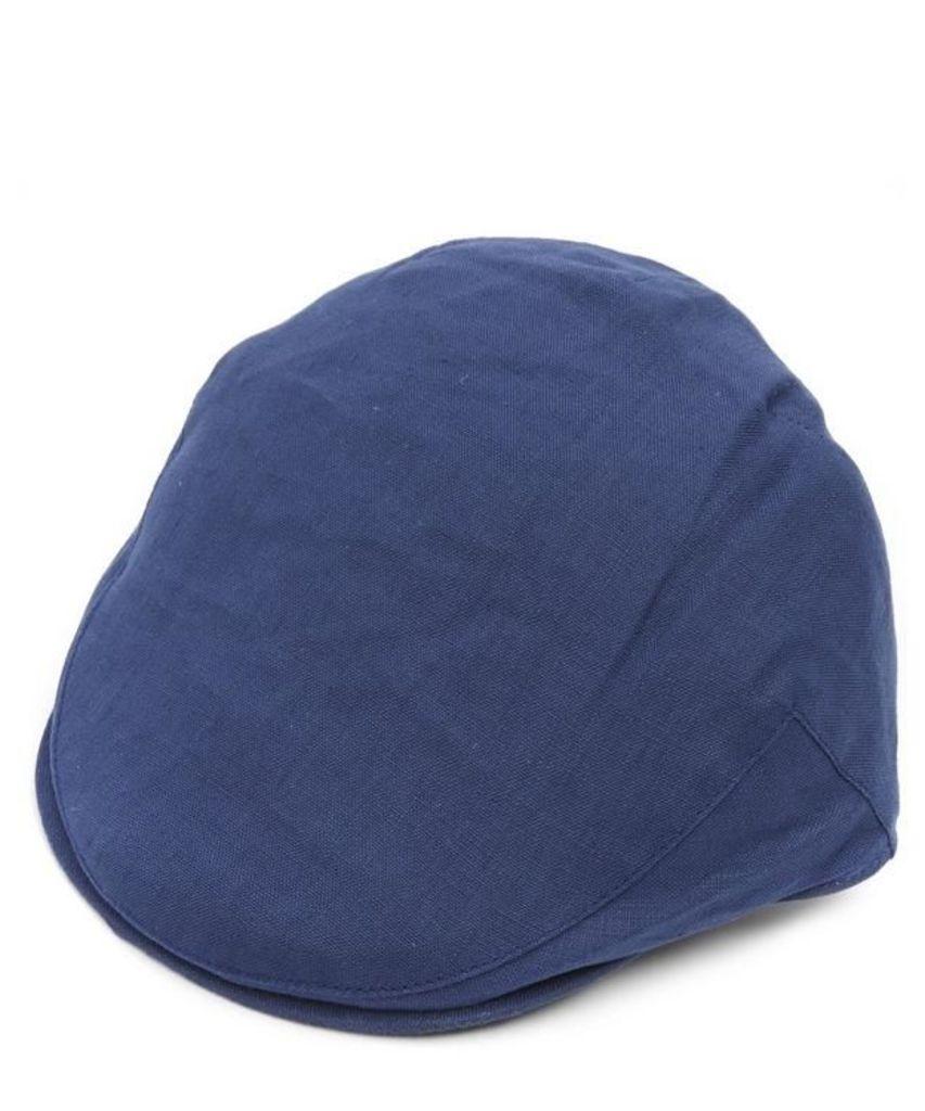 Summer Linen Balmoral Cap