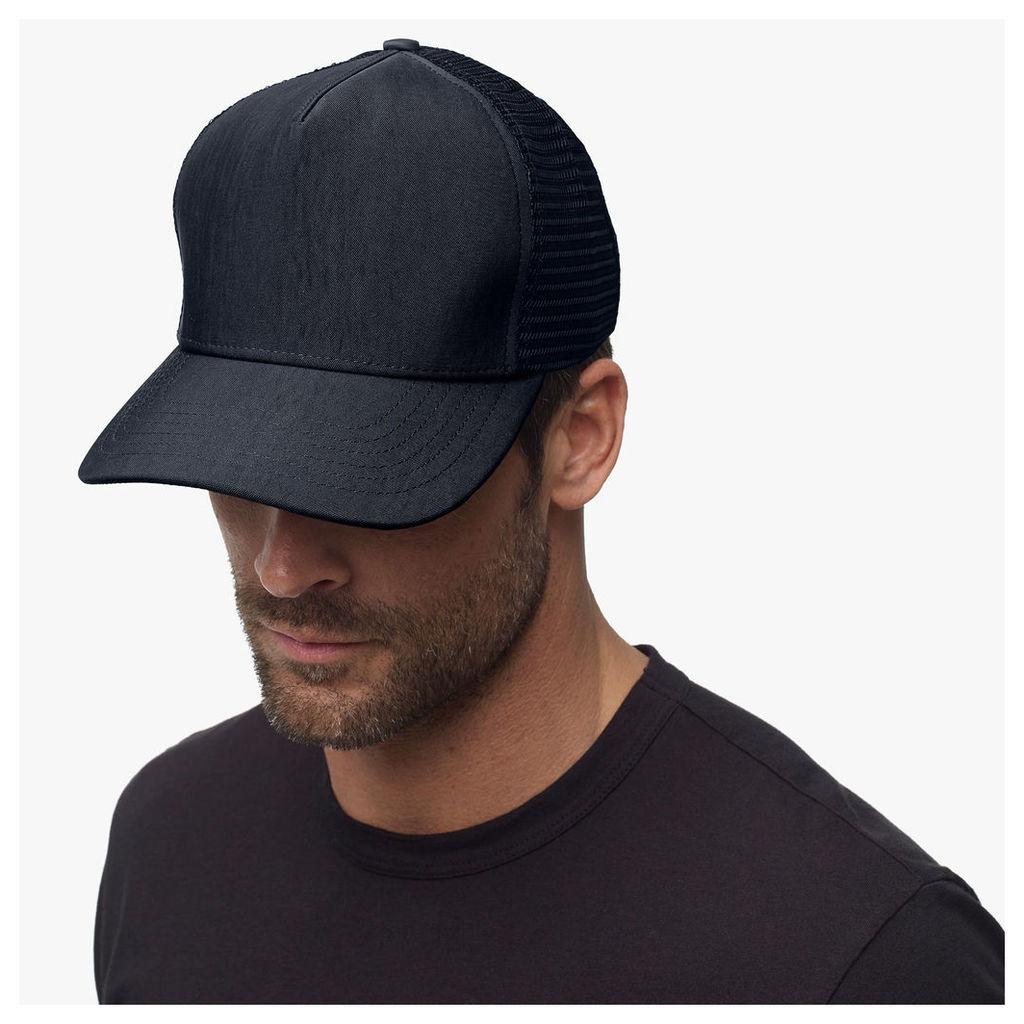 DOUBLE FACE NYLON TRUCKER HAT