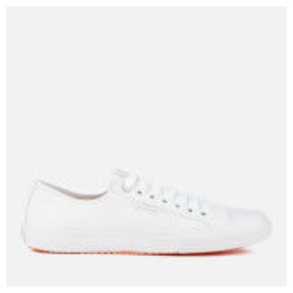 Superdry Men's Low Pro Sleek Trainers - White/White - UK 10 - White