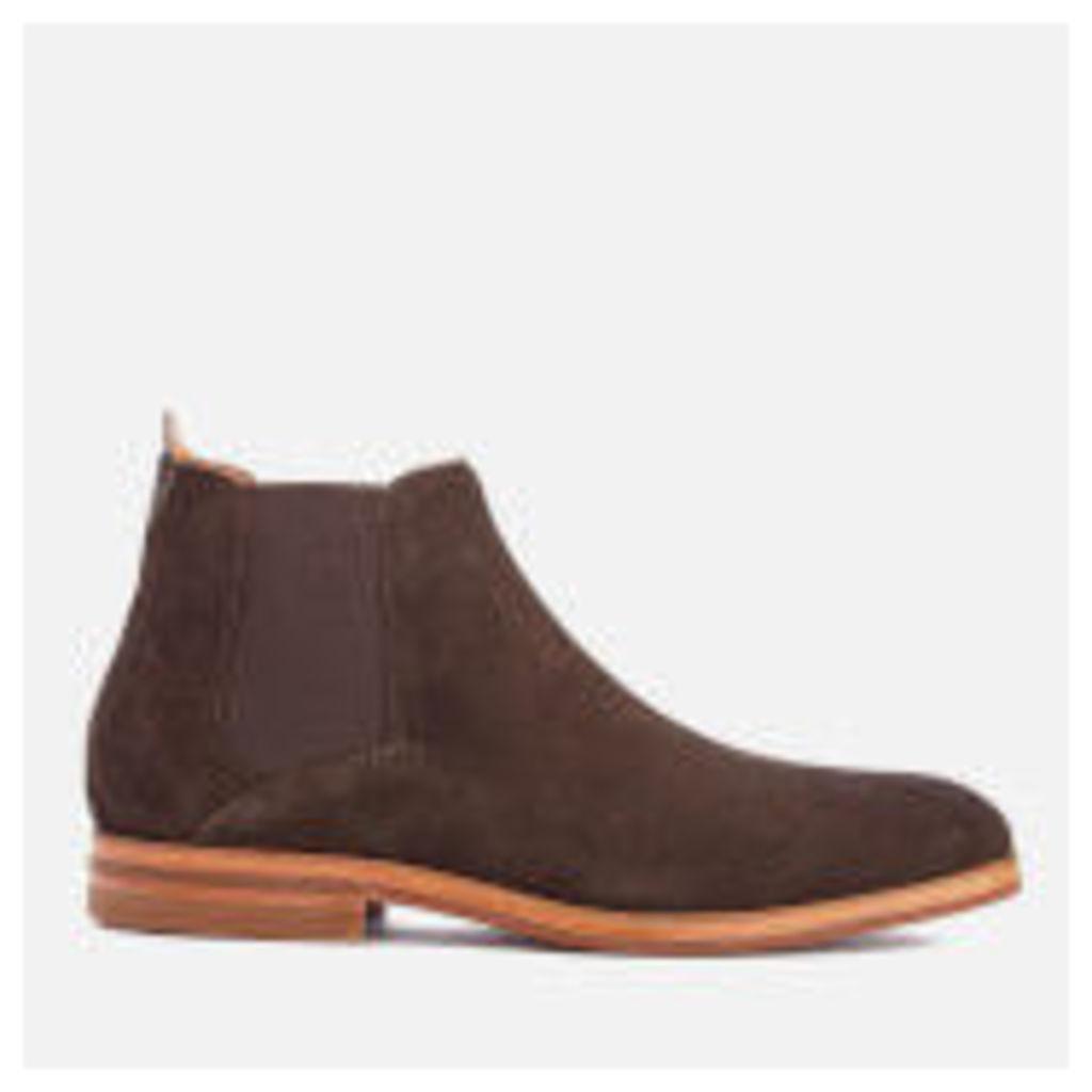 Hudson London Men's Tonti Suede Chelsea Boots - Brown
