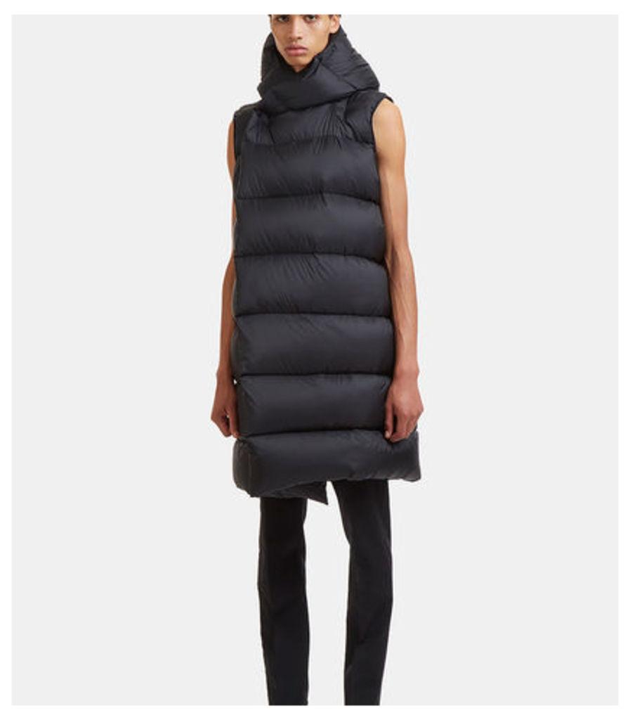 Liner Wrap Sleeveless Down Jacket