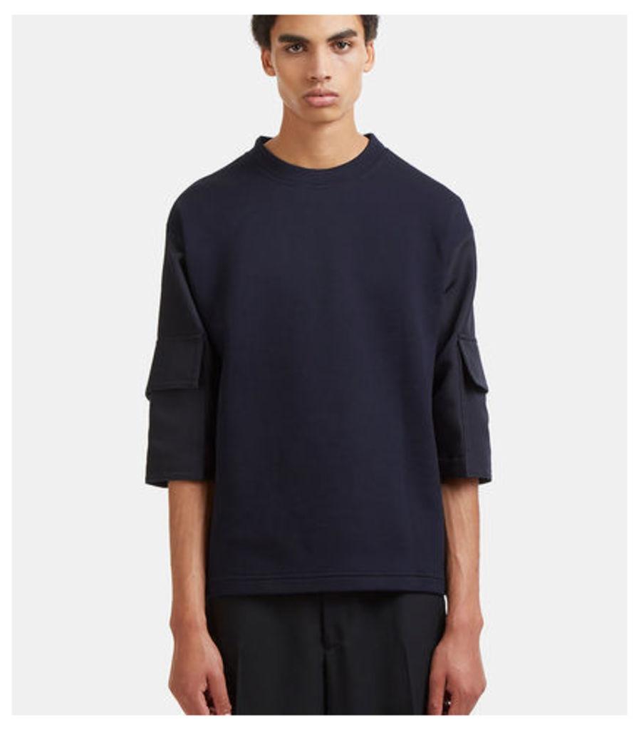 Boxy Cargo Pocket Sleeved T-Shirt
