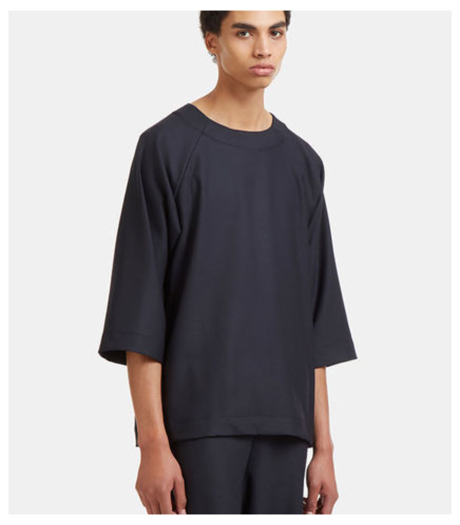 Oversized Raglan Sleeved Top
