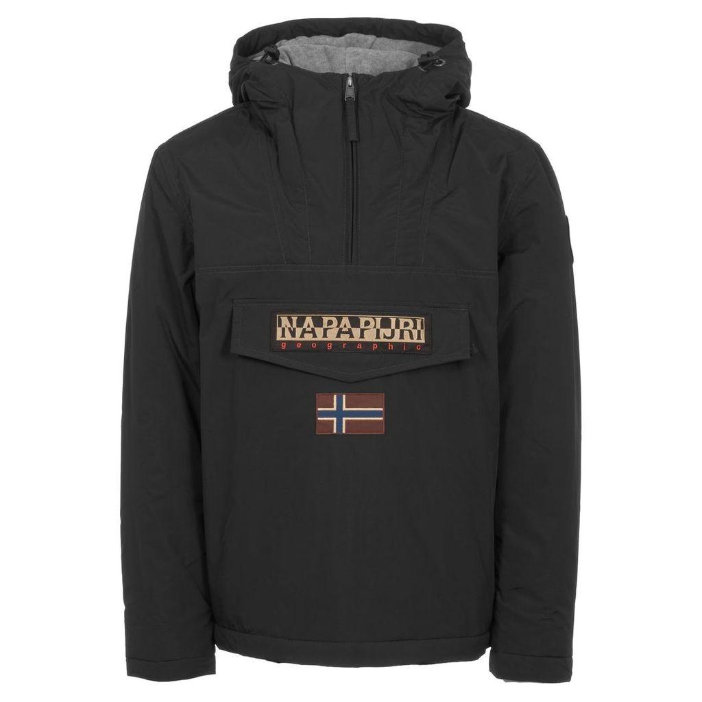 Black Rainforest Winter Jacket