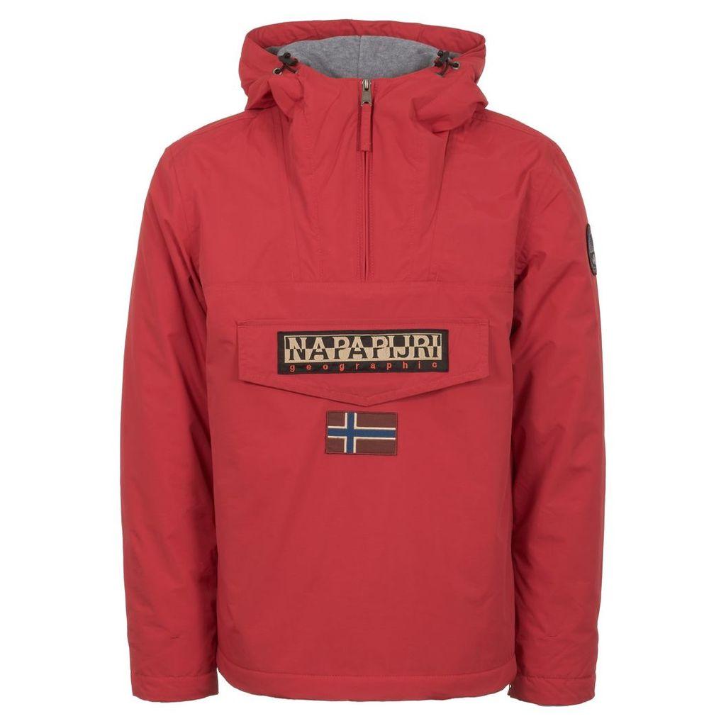 Red Rainforest Winter Jacket