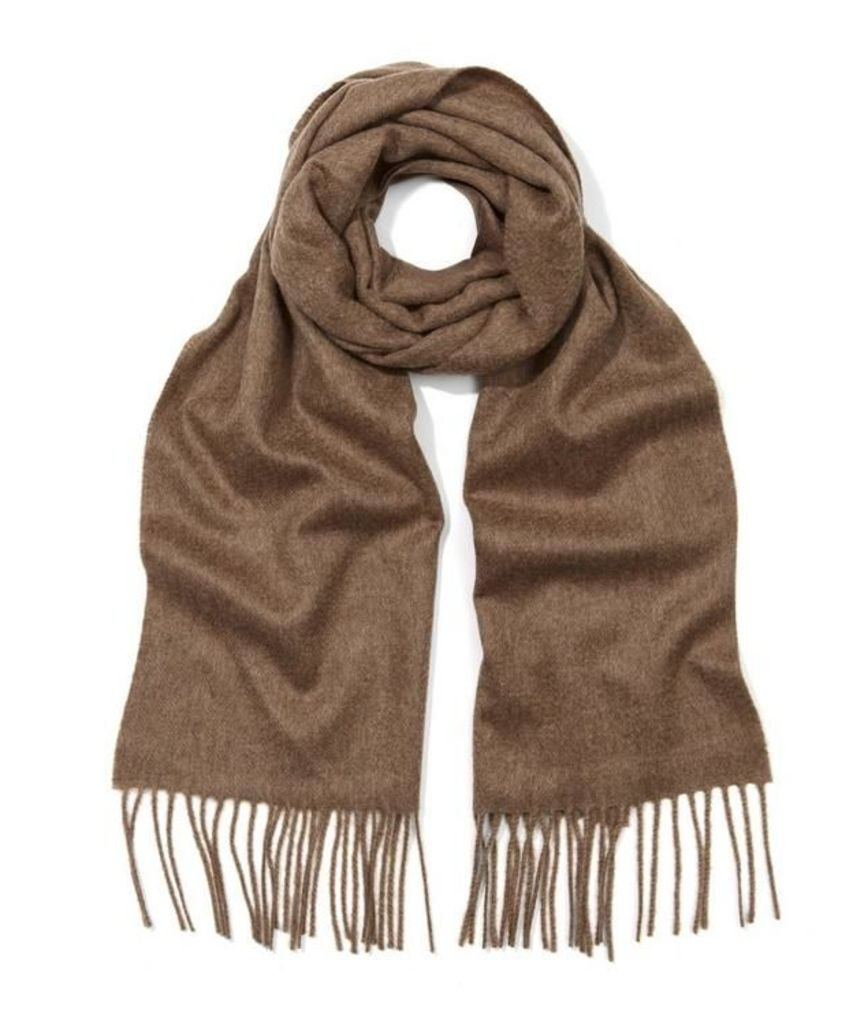 Johnstons Solid Cashmere Scarf