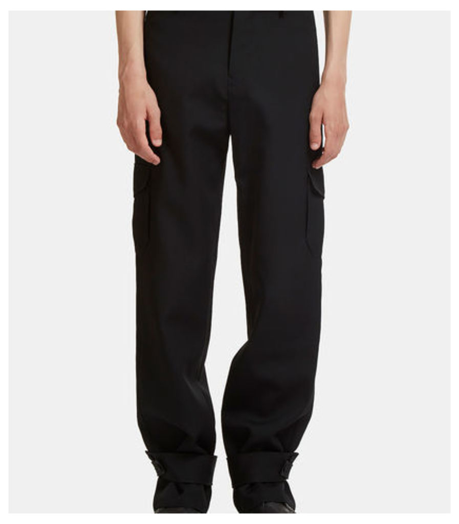 Strapped Cuff Cargo Pants