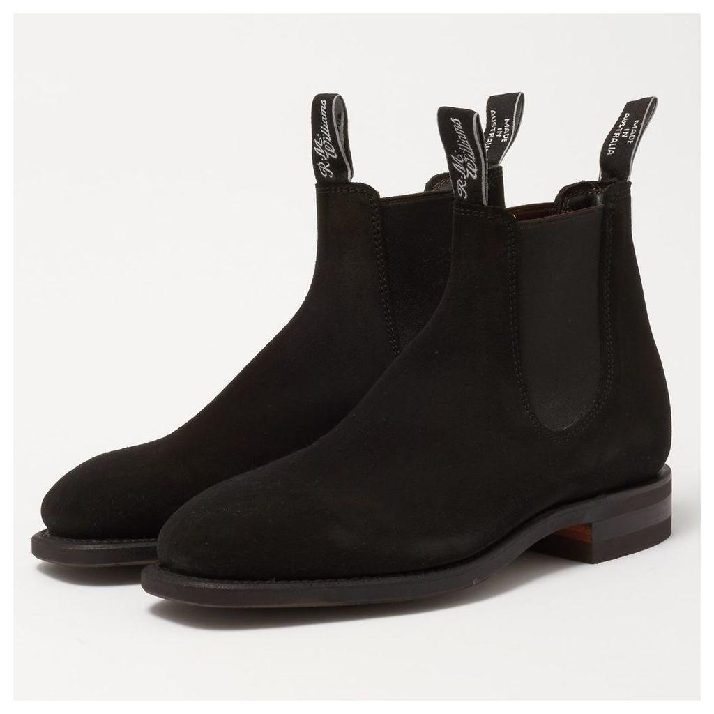 Black Comfort Craftsman Chelsea Boots