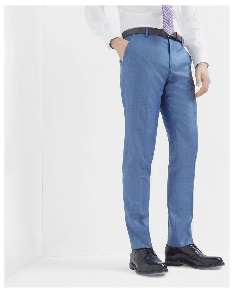 Ted Baker Debonair wool trousers Light Blue
