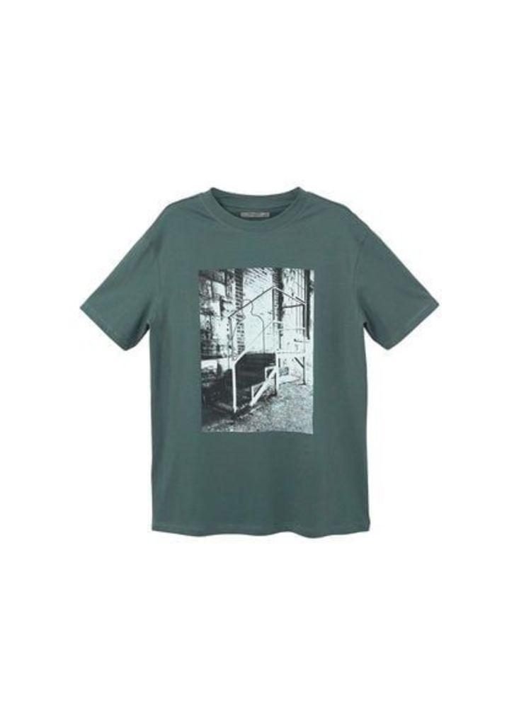 Image cotton t-shirt