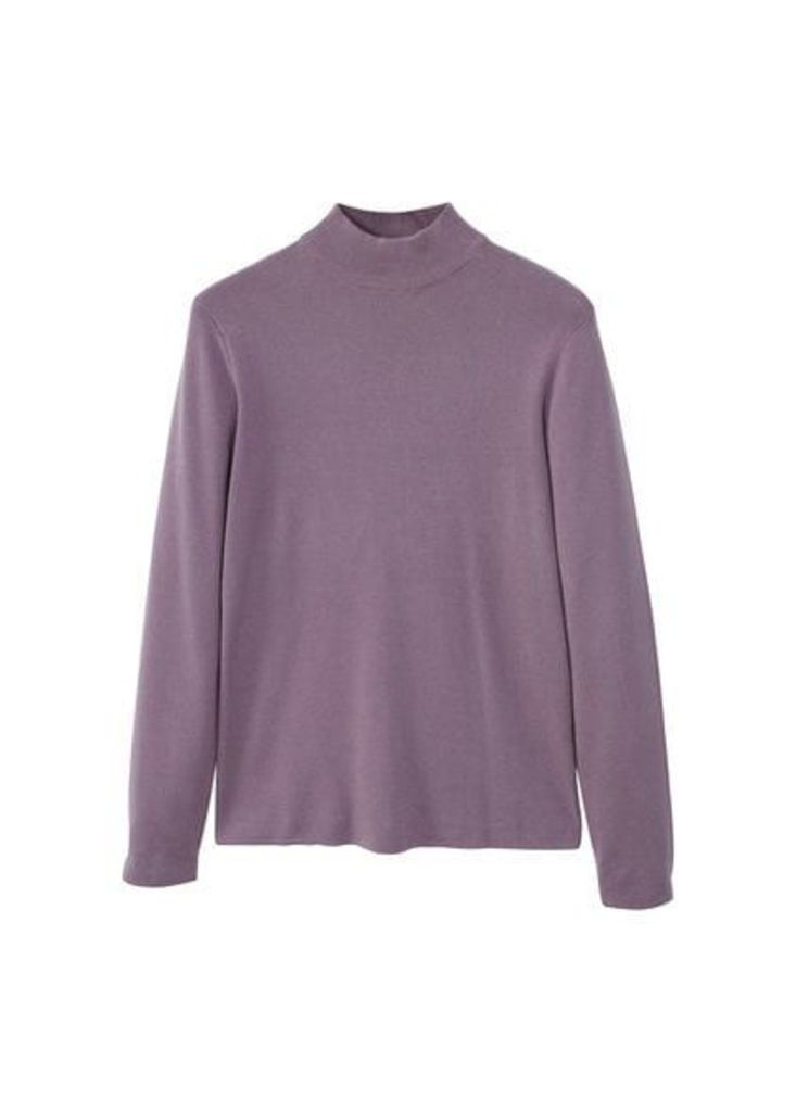 Cotton perkins neck sweater