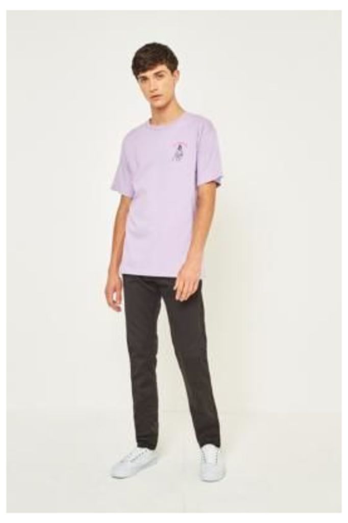 Edwin ED-85 Black Rinsed Slim Tapered Jeans, BLACK