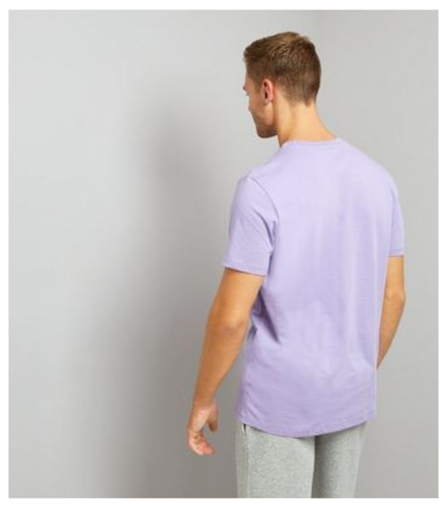 Lilac Crew Neck T-Shirt New Look