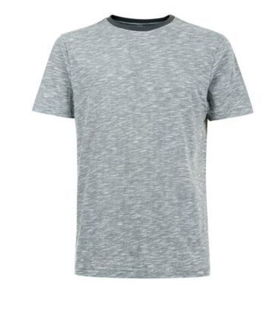 Grey Marl T-Shirt New Look