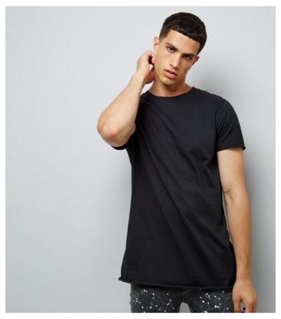 Black Chaos Back Print T-Shirt New Look