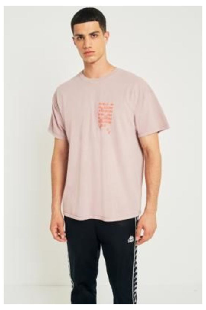 UO In Bloom Pink Overdye T-shirt, PINK