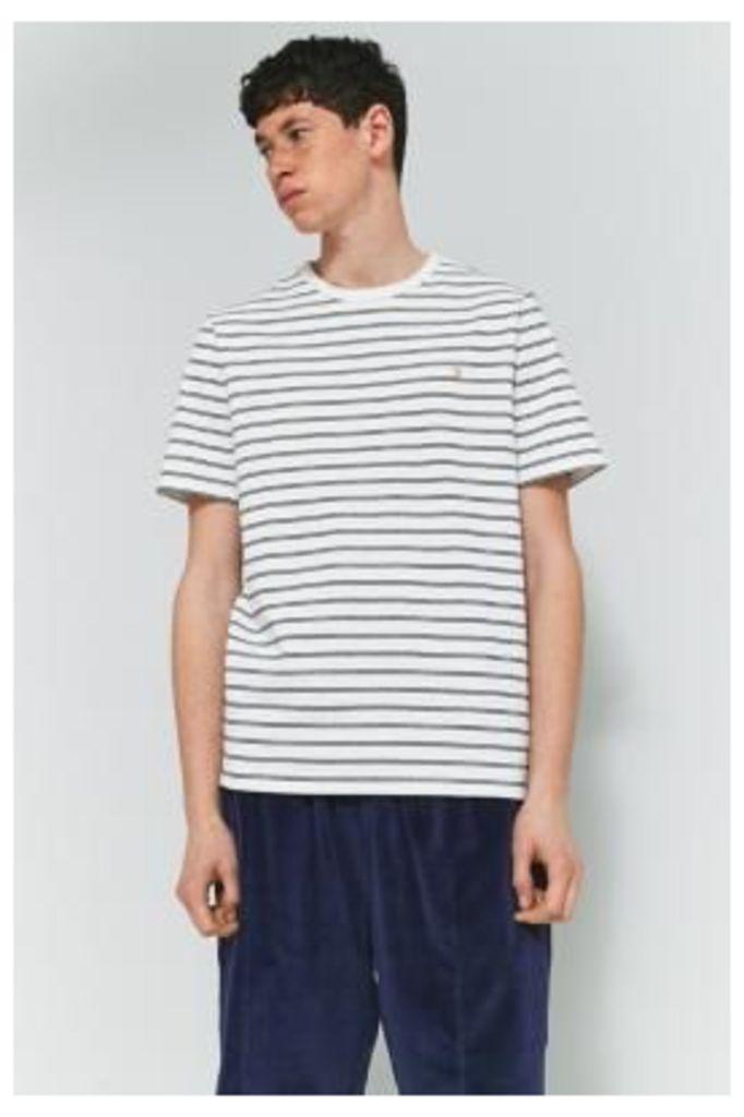 Farah Kimmeridge Ecru Striped T-shirt, IVORY